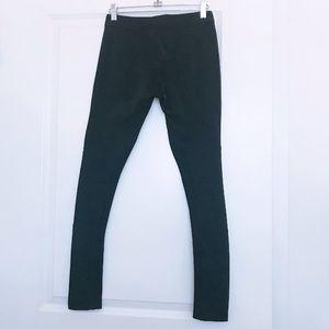rag & bone Jeans - RAG & BONE legging style black moto pants- SZ 24